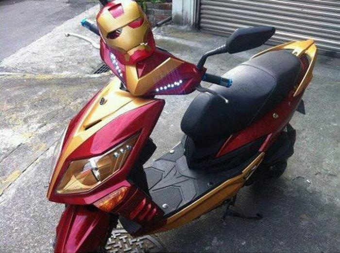 Iron Scooter