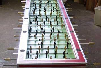 Largest foosball table ever